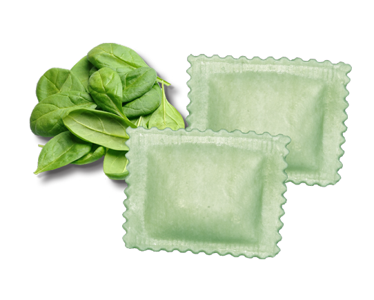 spinach and cheese ravioli