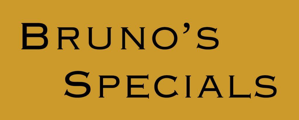 Current Specials!
