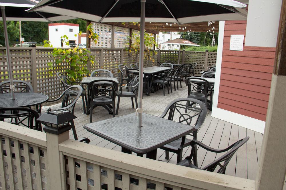 Bruno's Restaurant Outdoor Patio