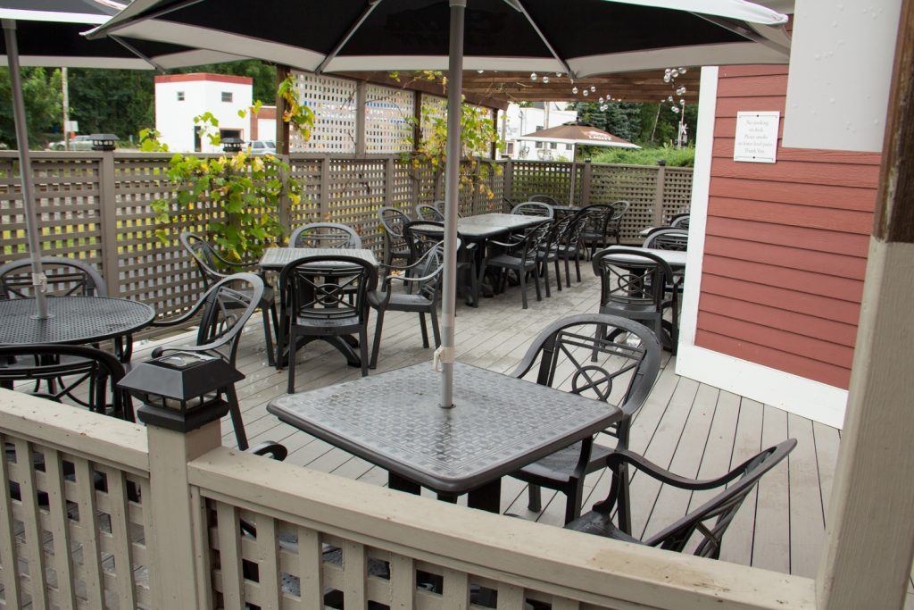 Bruno's Italian Restaurant Outdoor Patio