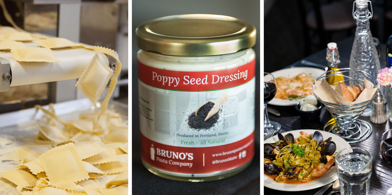 Bruno's, Bruno's Portland, Portland Maine, Bruno's Restaurant and Tavern, Bruno's Pasta Company